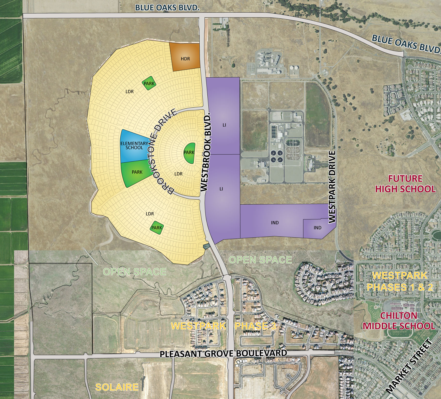 Westpark Phase 4 Roseville Residential Community Development